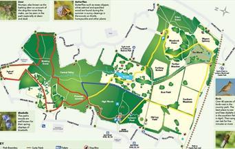 High Woods map