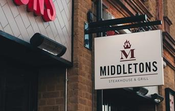 Middletons Steakhouse and Grill Exterior Sign