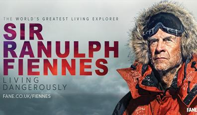 The World's Greatest Explorer - Sir Ranulph Fiennes - Living Dangerously. Fane.co.uk/fiennes