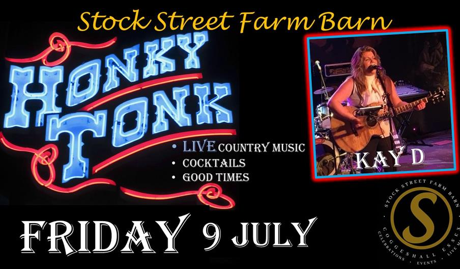 Stock Street Farm Barn - Honky Tonk Live Country Music with Kay D. Friday 9th July