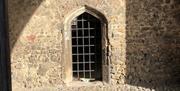 A doorway inside St John's Abbey Gate