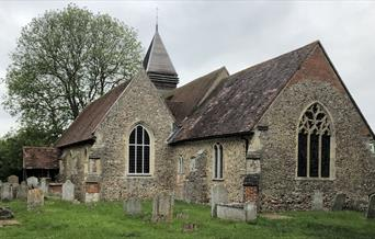 St Mary's Church in West Bergholt