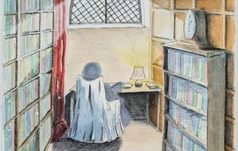 An illustration of the Old Library