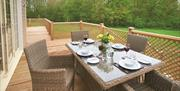 Wakes Hall Lodges Outdoors Dining