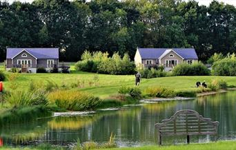 Wakes Hall Lodges Lake
