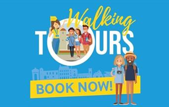 Walking Tours - Book Now Graphic