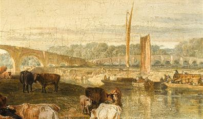 Walton Bridges by JMW Turner