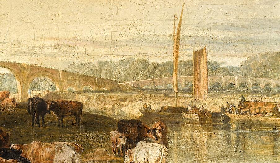 Walton Bridges by JMW Turner