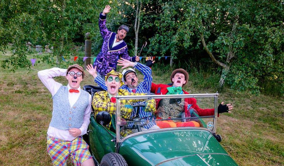 The cast of Wind in the Willows