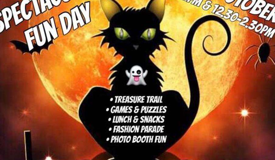 Spooky Spectacular Fun Day flyer