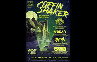 Colchester Arts Centre presents; COFFIN SHAKER