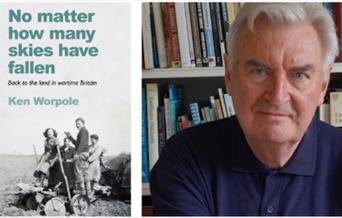 Ken Worpole and the cover of his new book