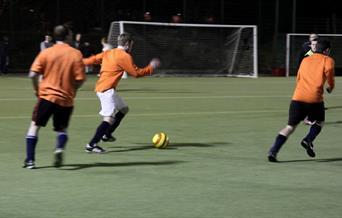 5 a-side football