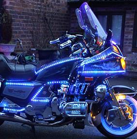 Image of Honda Goldwing motorcycle