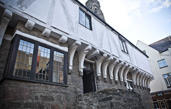 Exterior of Aberconwy House, Conwy