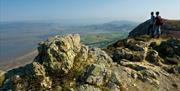 The view from Conwy Mountain towards Llandudno.