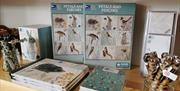 A selection of products from the RSPB including pens, notebook, jigsaw and more.