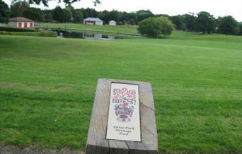 Llwybr Treftadaeth Parc Eirias