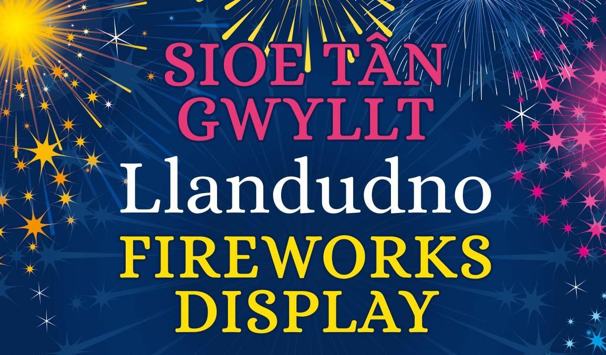Llandudno Fireworks Display