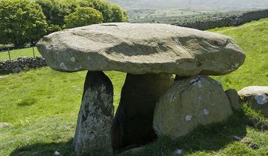 Maen y Bardd, above Rowen, Conwy Valley