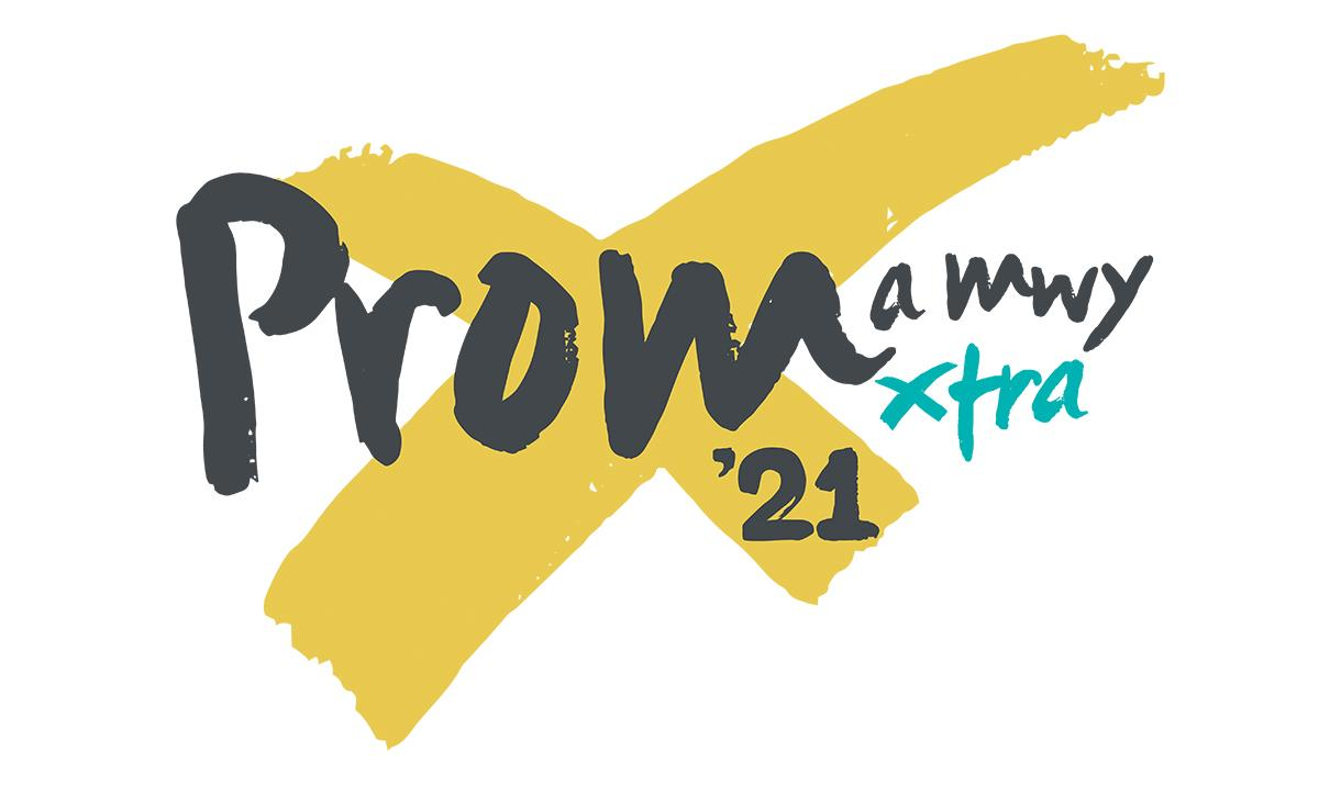 Delwedd yn dangos logo Prom Xtra