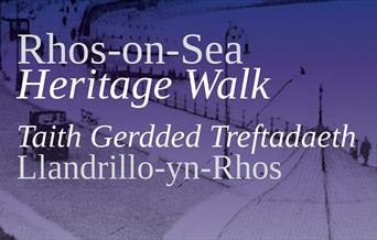 Rhos on Sea Heritage Walk Bilingual Front Cover cropped