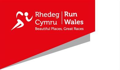 Delwedd yn dangos logo Rhedeg Cymru