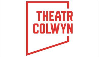 Delwedd yn dangos logo Theatr Colwyn