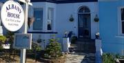 Exterior of Albany House, Llandudno