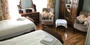 Bodeuron Guest House twin bedroom