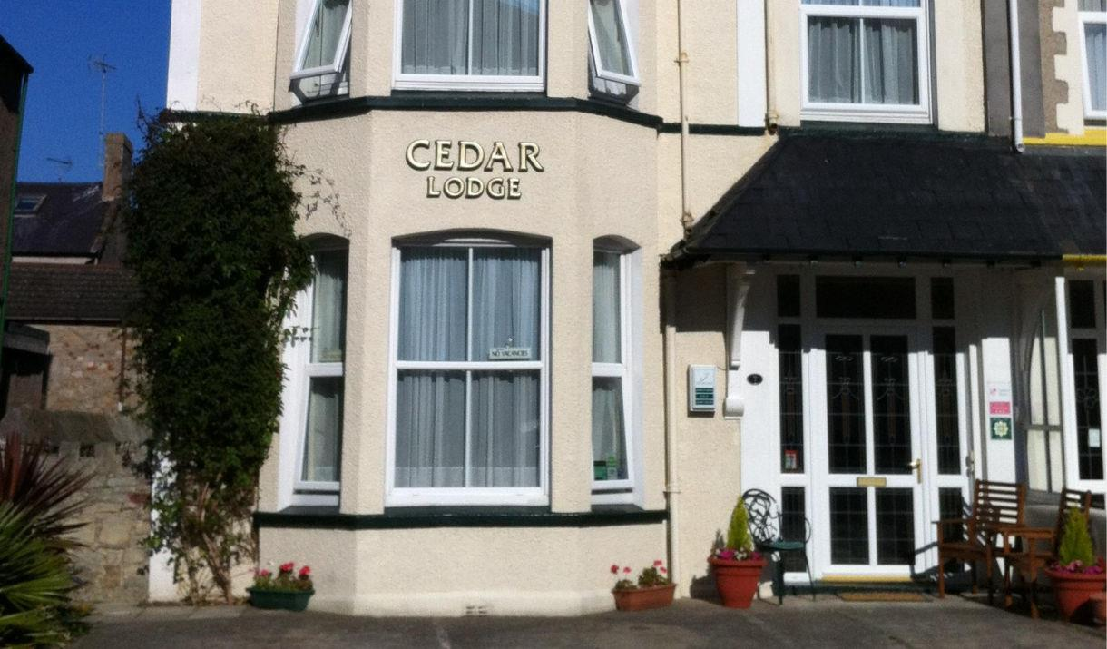 Cedar Lodge front entrance