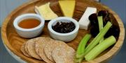 Welsh cheeseboard at the Kinmel Arms restaurant