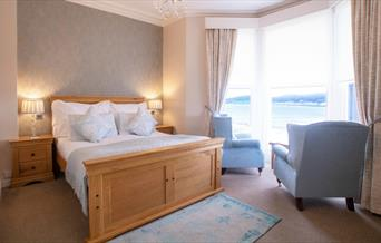 Image of a bedroom at the Elm Tree Hotel