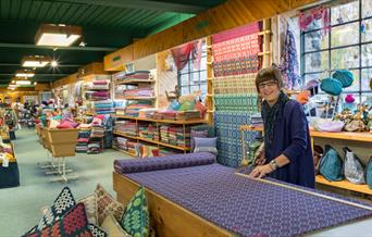 Trefriw Woollen Mills shop