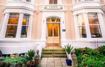 Front entrance at Cae Mor Hotel