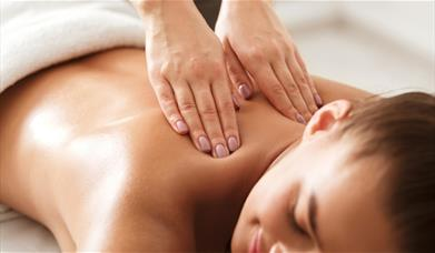 Image of woman receiving a massage