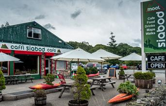 Exterior of Moel Siabod Cafe