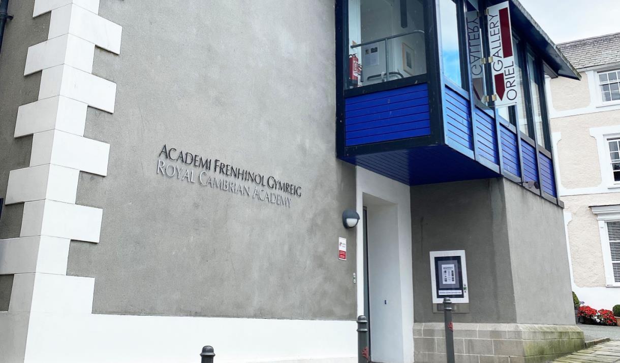 Exterior of Royal Cambrian Academy