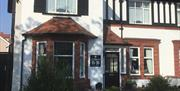 Front entrance at Southbourne Guest House