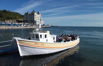 Sea Jay boat trip at Llandudno