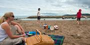 Rhos on Sea Sandy Beach