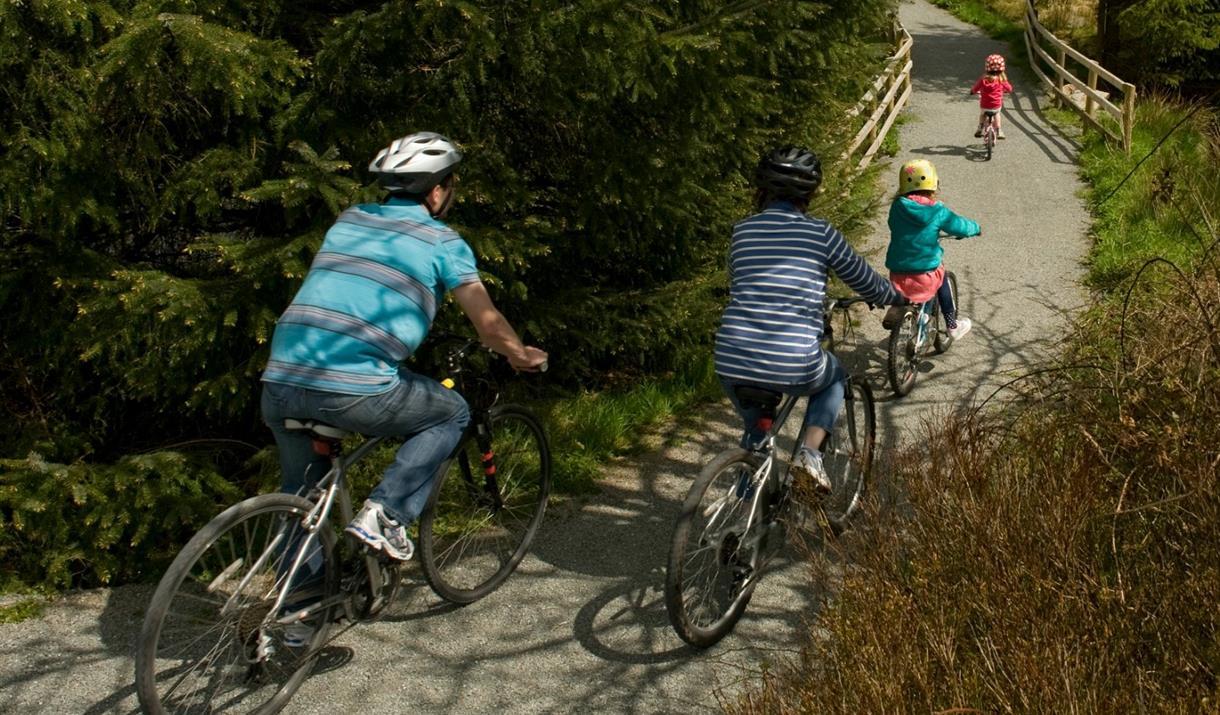 Biking in Conwy
