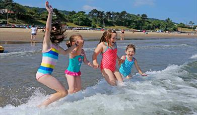 Seaside Award-winning Porth Eirias Beach, Colwyn Bay