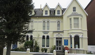 Outside of Llandudno Museum