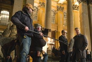 Filming Mission Impossible - Rogue Nation at Blenheim Palace (courtesy of Paramount Pictures and Skydance Productions)