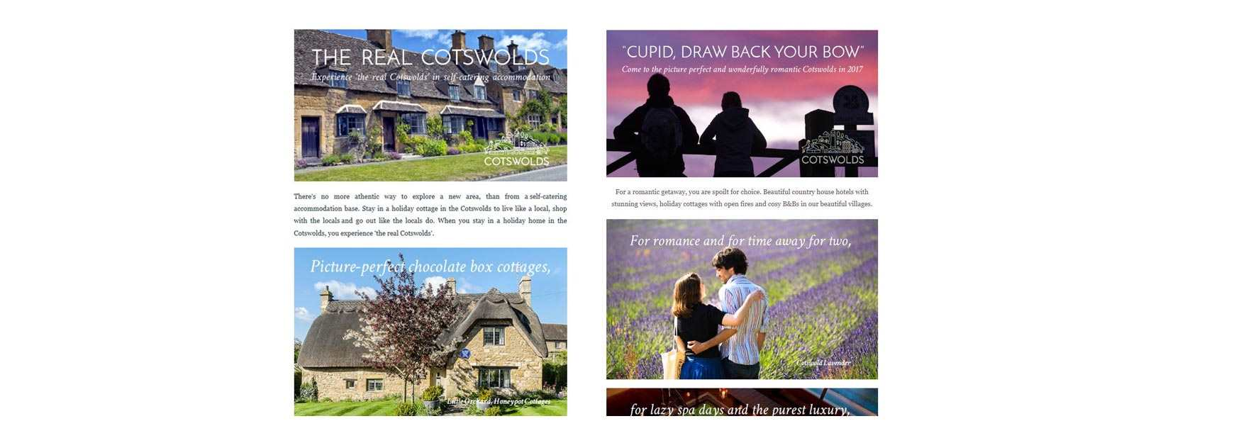 Browse our archive of Cotswolds Tourism eNewsletters