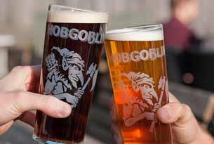 Brewed in the Cotswolds - Hobgoblin beer