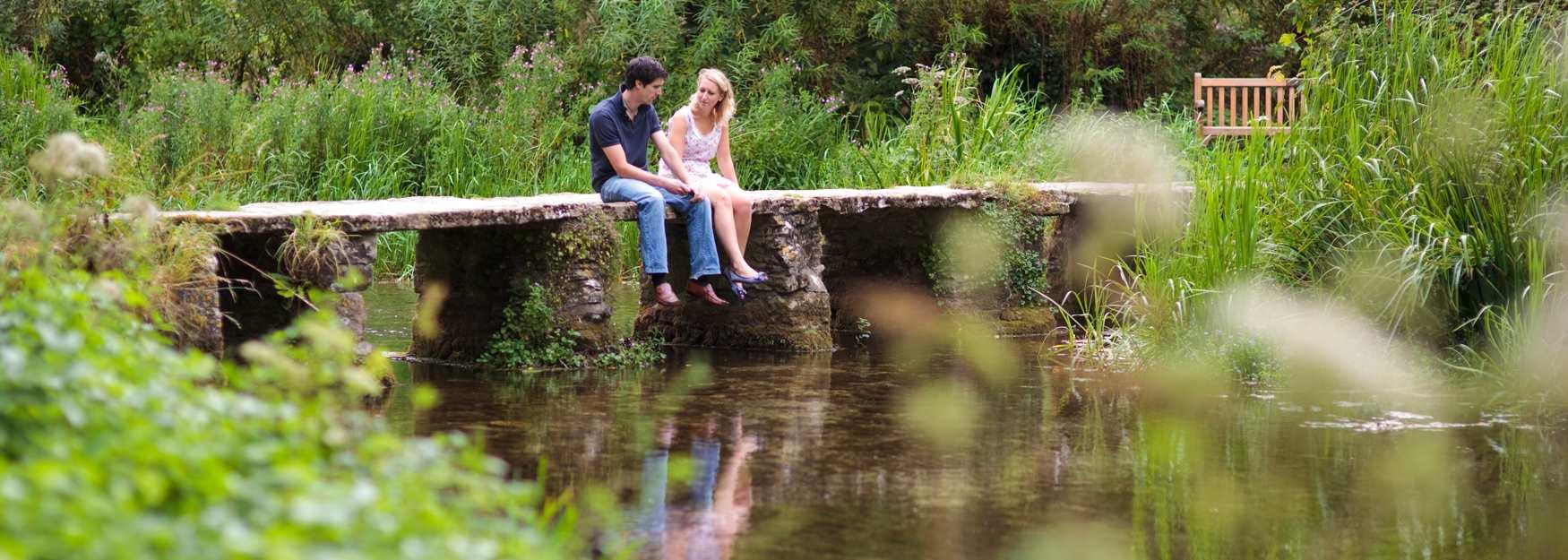 Romance on Northleach Bridge