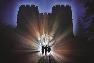 """Sudeley Castle's """"Spectacle of Light"""" - just one of the great events illuminating the Cotswolds this Christmas"""