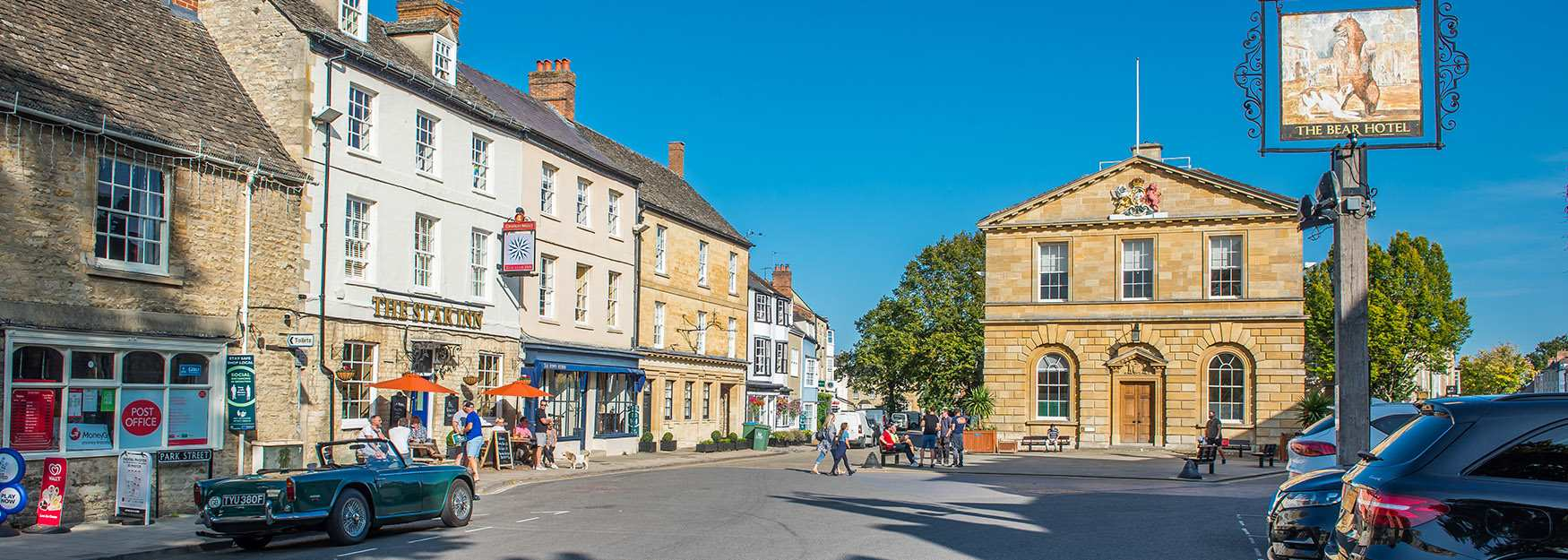 The centre of historic Woodstock (photo by Jay Alice Photographic)